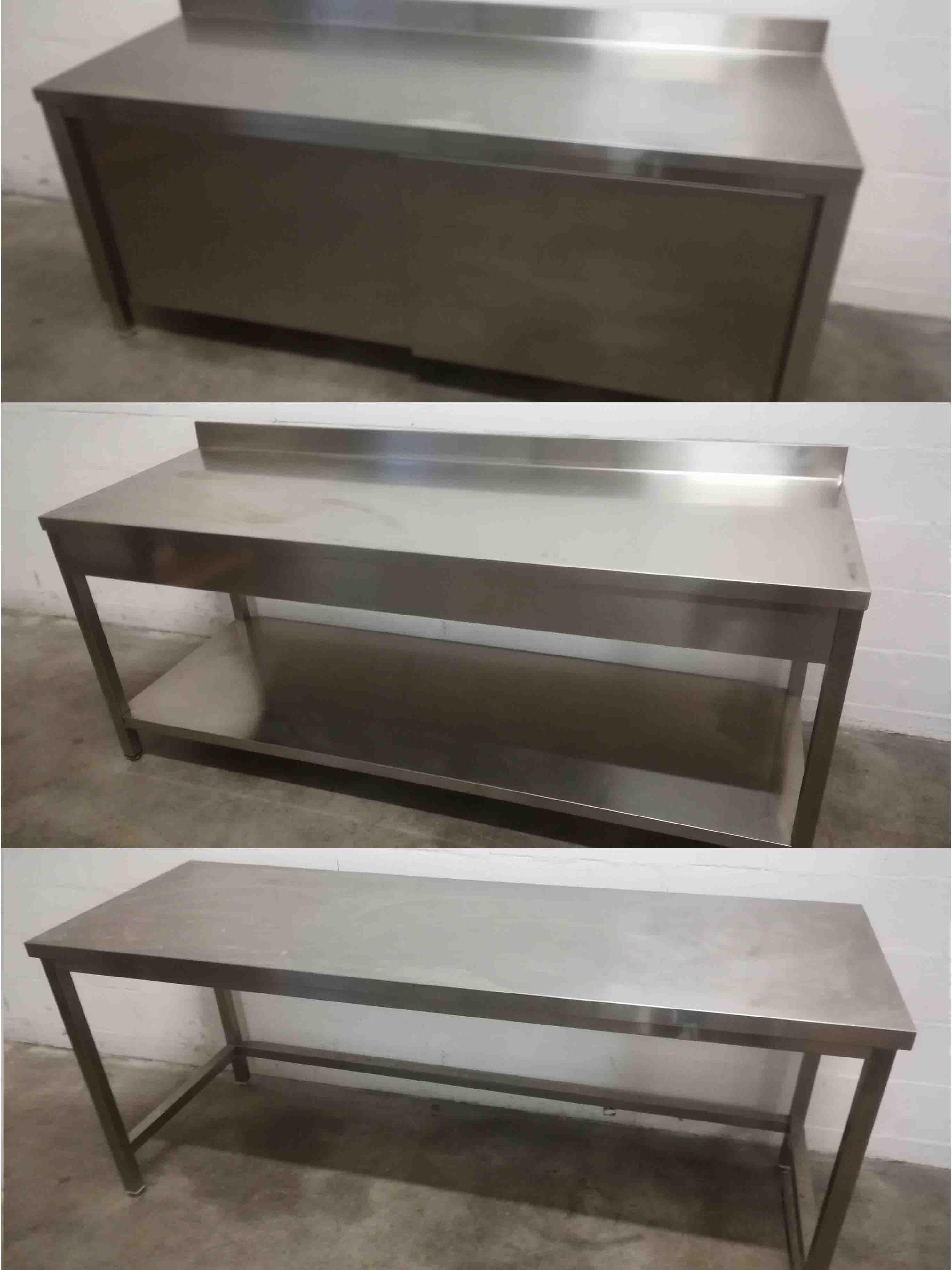 Banchi Tavoli Inox PEB Machinery